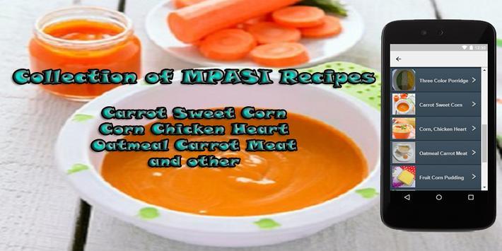 Collection of MPASI Recipes apk screenshot