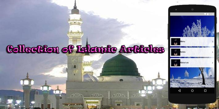 Collection of Article Islam poster