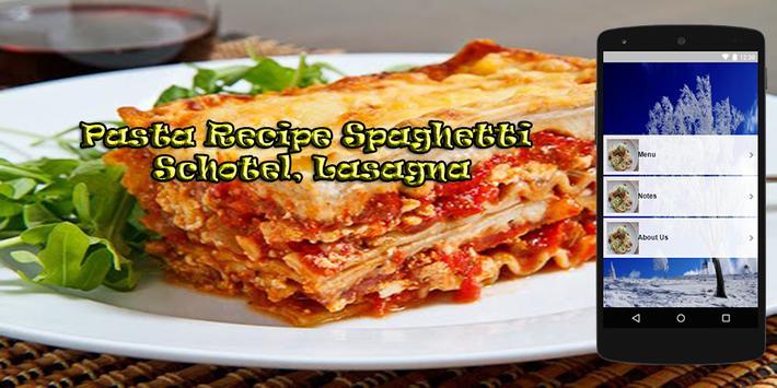 Pasta Recipes Spaghetti poster