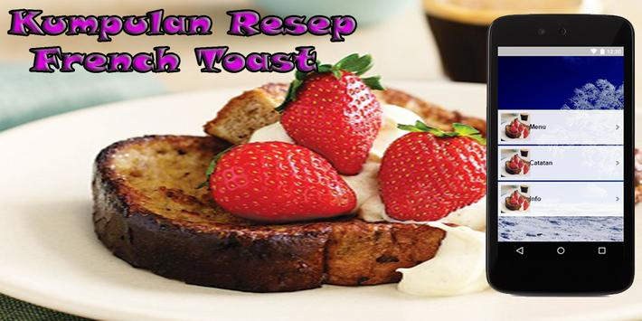 Resep French Toast Enak poster