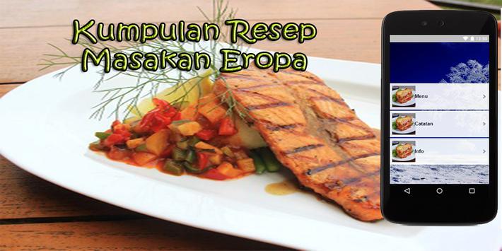 Resep Masakan Eropa poster