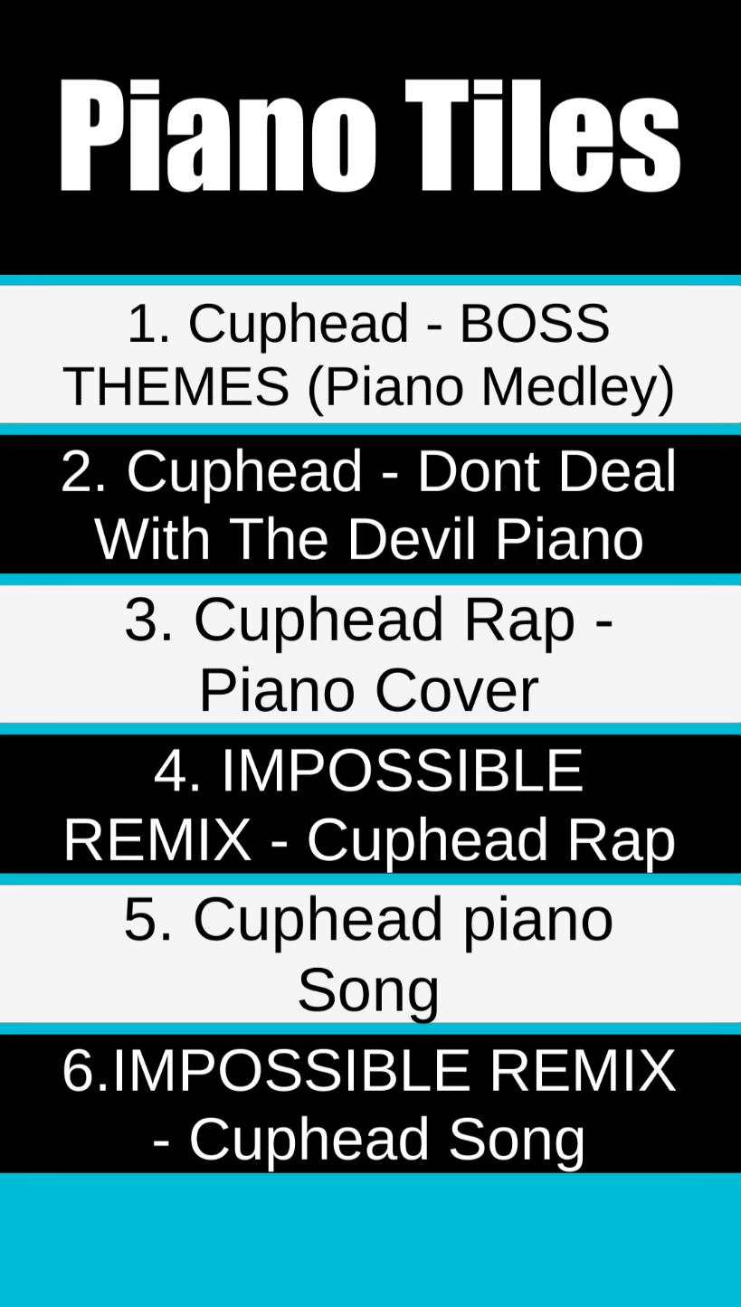 Cuphead Piano Tiles for Android - APK Download