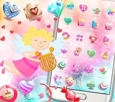 Cupid Venus Angel Sweet Love Theme screenshot 1