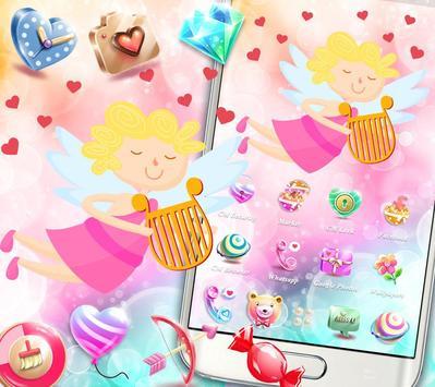 Cupid Venus Angel Sweet Love Theme screenshot 2
