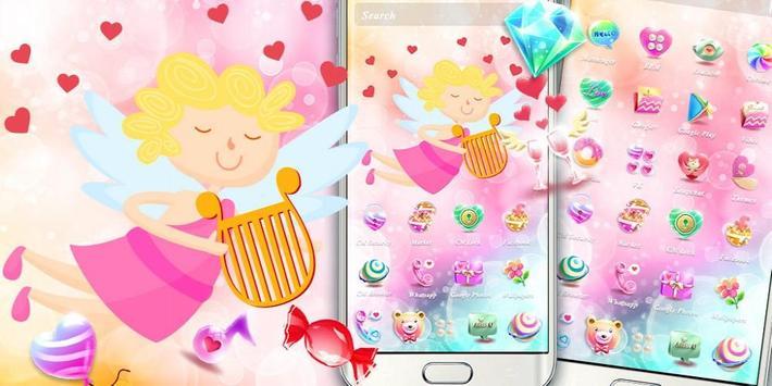 Cupid Venus Angel Sweet Love Theme screenshot 3