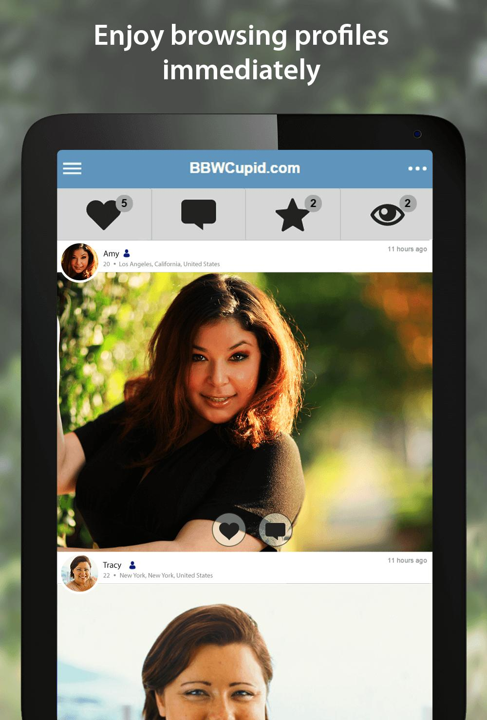 Bbwcupid Screenshot 5