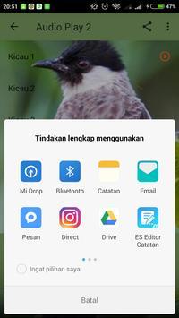 Kicau Kutilang Masteran Merdu screenshot 3
