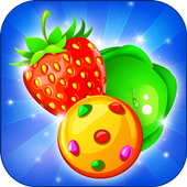 Fruits and Vegetable Crush: Rescue Pet Puzzle Game icon