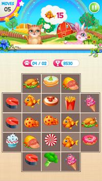 Fruits and Vegetable Crush: Rescue Pet Puzzle Game screenshot 4