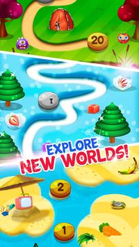 Fruits and Vegetable Crush: Rescue Pet Puzzle Game screenshot 1
