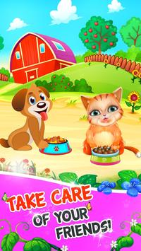 Fruits and Vegetable Crush: Rescue Pet Puzzle Game screenshot 2