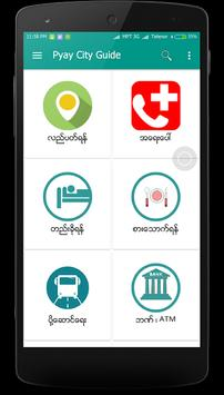 Pyay City Guide poster