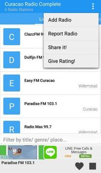 Curacao Radio Complete apk screenshot