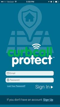 CurbCall Protect poster