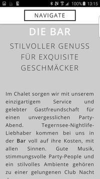 Chalet | Bar - Club - Lounge apk screenshot