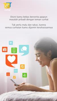 Curhat App screenshot 1