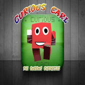 Curious Carl 3D icon