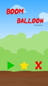 Boom Balloon poster