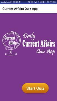Current Affairs & GK Quiz App apk screenshot