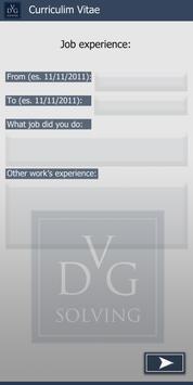 CV (Curriculum Vitae) by DVG poster