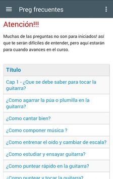 Curso de Guitarra Gratis apk screenshot