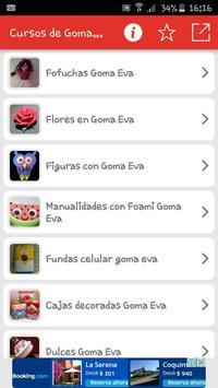 Curso de Goma Eva apk screenshot