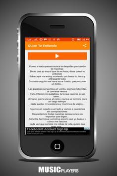 Crecer German letra screenshot 2