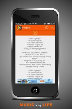 kehlani gangsta Songs apk screenshot