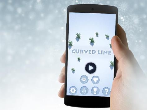 Curve Line poster