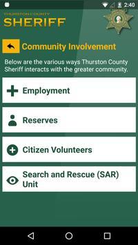 Thurston County Sheriff screenshot 3