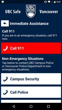 UBC Safe - Vancouver screenshot 2