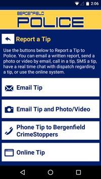 Bergenfield Police Department screenshot 2