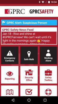 GPRC Safety poster
