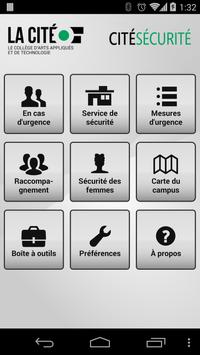 Cité Sécurité poster