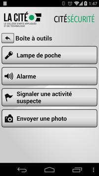 Cité Sécurité apk screenshot