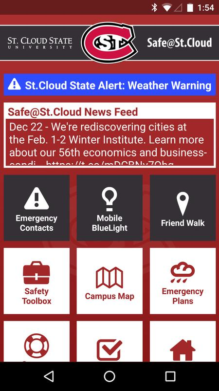 St Cloud Campus Map.Safe St Cloud For Android Apk Download