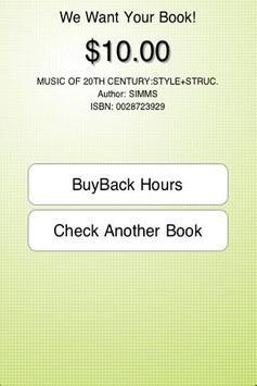 Sell Books BGSU screenshot 1
