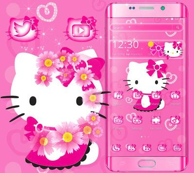 Cute kitty pink cat theme for android apk download cute kitty pink cat theme mightylinksfo