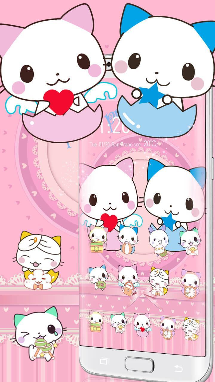 Tema Cinta Kartun Lucu Lucu For Android APK Download