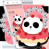 Cute Cartoon Panda Theme icon