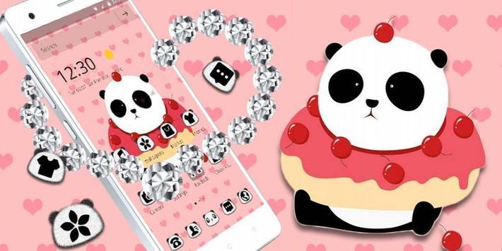 Cute Cartoon Panda Theme screenshot 3