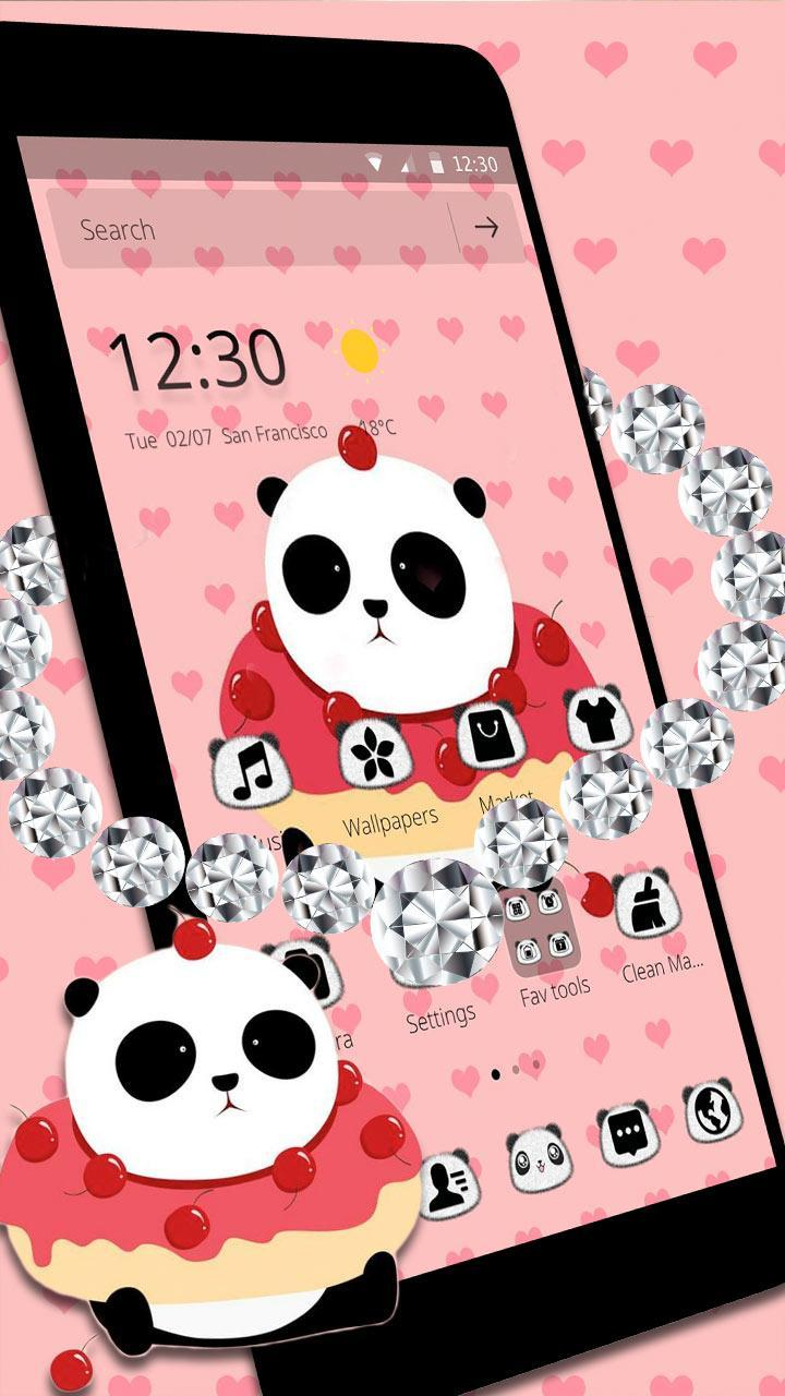 Tema Kartun Panda Lucu For Android APK Download