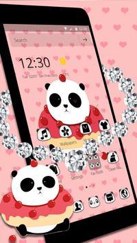 Cute Cartoon Panda Theme poster