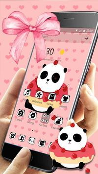 Cute Cartoon Panda Theme screenshot 2