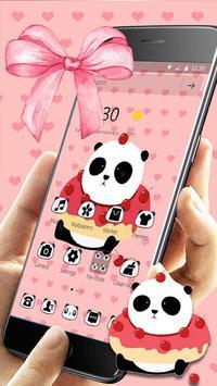 Cute Cartoon Panda Theme screenshot 9