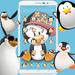 Cute Cartoon Penguin Theme