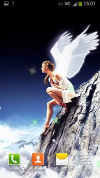 Angels Live Wallpaper screenshot 3