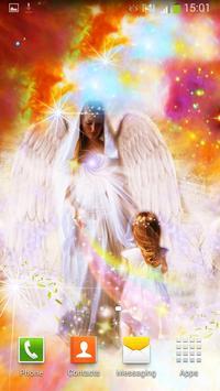 Angels Live Wallpaper screenshot 1