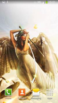 Angels Live Wallpaper screenshot 4