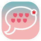 Delta BBM cute theme 2017 icon